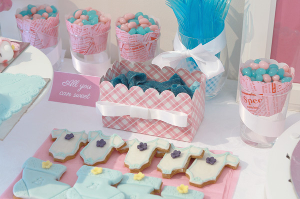 Baby gender reveal party (2/3)